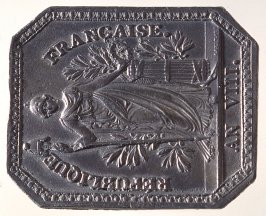 French Republic medal
