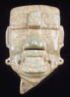 Head of deity