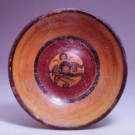 Bowl with glyphs
