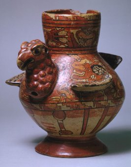 Effigy Jar in the form of a Turkey