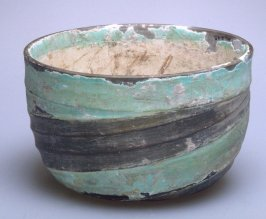 Bowl with spiral shape