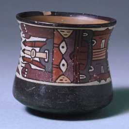 Bowl with arrow designs