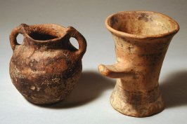Pot with two handles