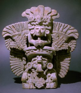 Urn of the god Cocijo, or Centeotl