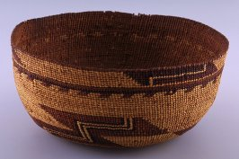 Woman's basketry hat