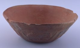 Bowl with reptile design