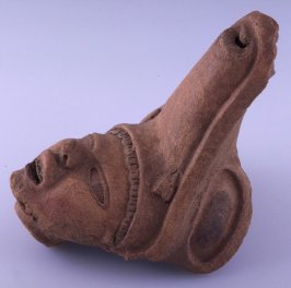 Top of effigy vessel - WHISTLE