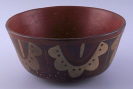 Bowl with necklace designs