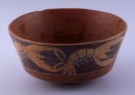 Bowl with lobster band