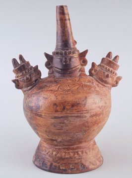 Stirrup-spout vessel with Sican lord