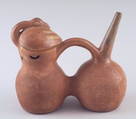 Double chamber stirrup vessel