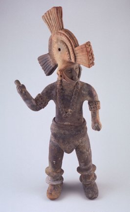 Dancer with elaborate headdress