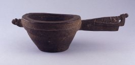 Pot with long handle