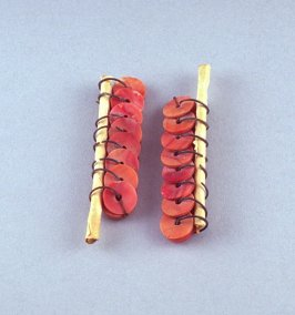 Pair of money earrings (Sappi-sappi)