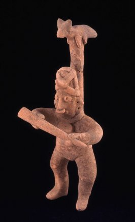 Male dancer with animal headdress