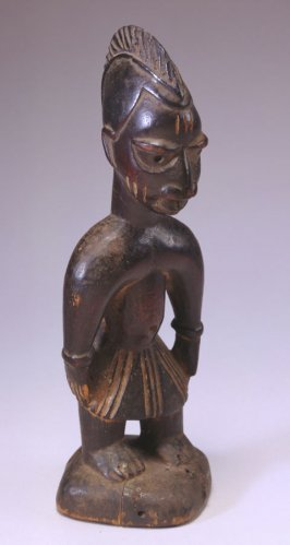 Twin Commemorative Figure (Ere Ibeji)