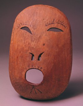 Mask with round mouth