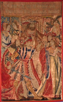 Ulysses and Diomedes at the Trojan Court (fragment) from the Scenes from the Trojan War