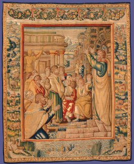 St. Paul Preaching at Athens, from The Acts of the Apostles series