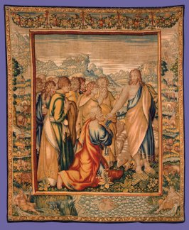 The Charge of St. Peter, from The Acts of the Apostles series