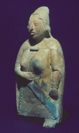 Female dignitary in form of whistle