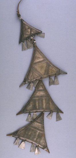 Talisman with four triangles (gris gris)