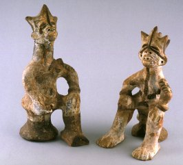 Male and female Divination figures