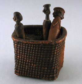 Three Figures with Basket
