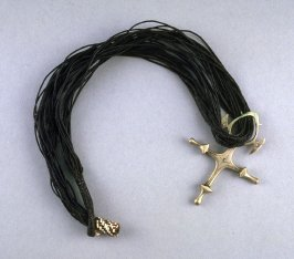 Cross of Abalok with cord