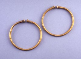 Pair of bracelets or nose rings