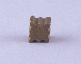 Star shaped goldweight