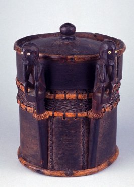 Lidded container for magical substances