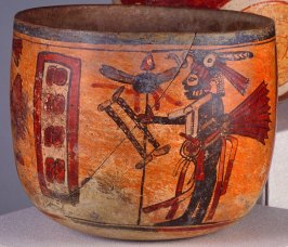 Bowl with musician