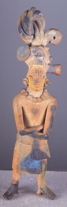 Standing male dignitary