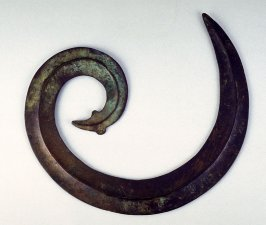 Hat Ornament in the form of a Snake