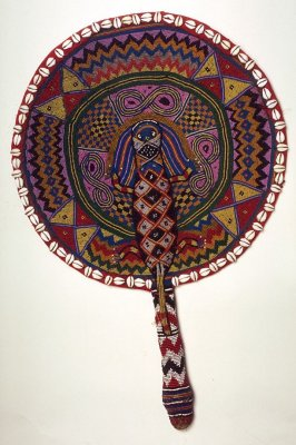 Ceremonial fan for Oshun