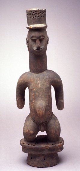 Standing male figure from mask