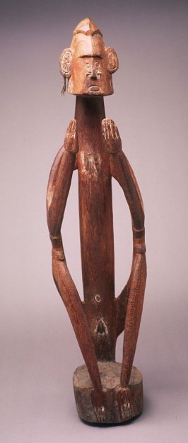 Seated female ancestor figure
