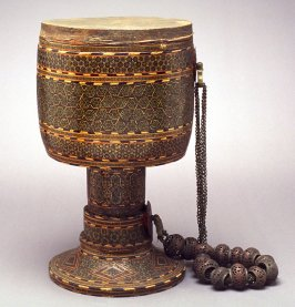 Drum with Persian designs