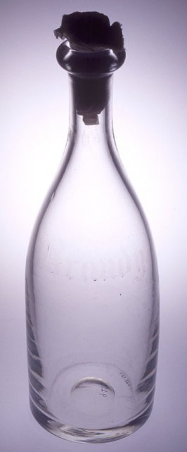 Brandy bottle or decanter