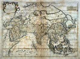 L'Asia [Map of]