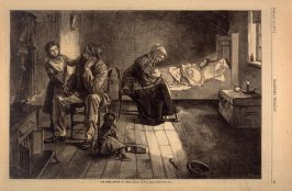 One More Mouth to Feed, from Harper's Weekly, (13 January 1877), p. 29