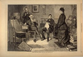 Before the School Board, from Harper's Weekly, (10 February 1877), p. 109