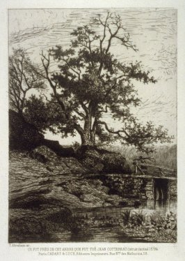 It is said that Jean Cottereau (called Le Chuyn) was killed next to this tree, in 1794.