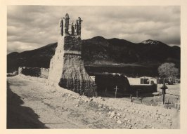 Ruins of Old Church, plate IV from Taos Pueblo (San Francisco: Grabhorn Press, 1930)