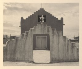 New Church, plate V from Taos Pueblo (San Francisco: Grabhorn Press, 1930)