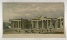 The South Front of the British Museum