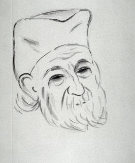 Portrait of the Sculptor Brancusi