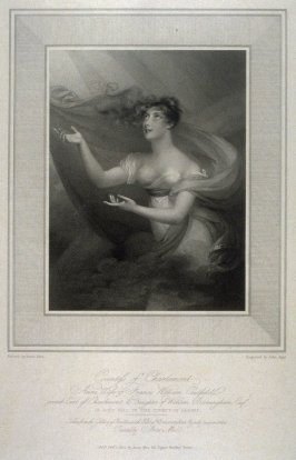 Countess of Charlemont, illustration to Mee's 'Gallery of Beauties of the Court of George III' (1812)