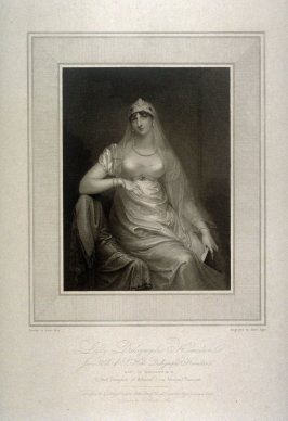 Lady Dalrymple Hamilton, illustration to Mee's 'Gallery of Beauties of the Court of George III' (1812)
